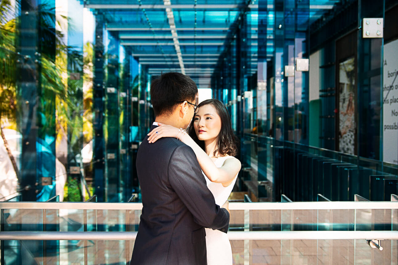 Miami Design District Engagement Photos